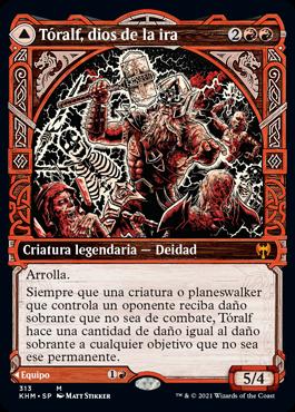 Tóralf, dios de la ira