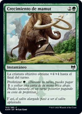 Crecimiento de mamut