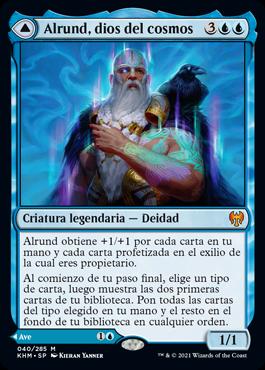 Alrund, dios del cosmos