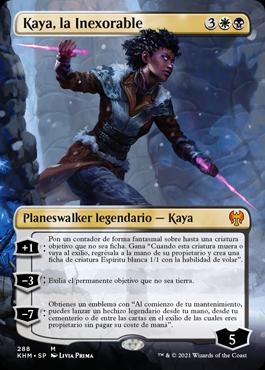 Kaya, la Inexorable