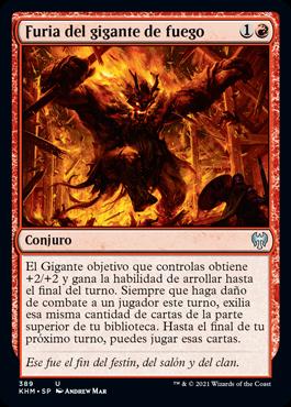 Furia del gigante de fuego