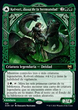 Kolvori, diosa de la hermandad
