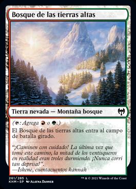 Bosque de las tierras altas
