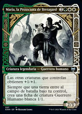 Marja, la Protectora de Bretagard