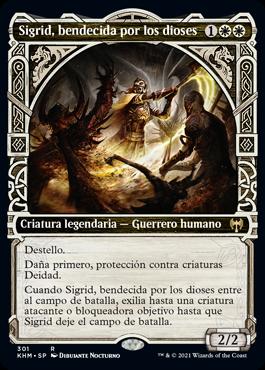 Sigrid, bendecida por los dioses