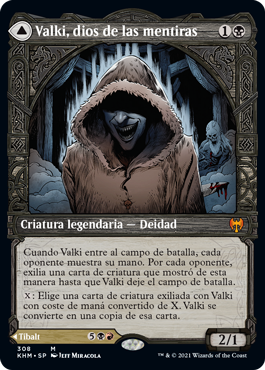 Valki, dios de las mentiras