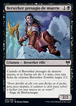 Berserker presagio de muerte