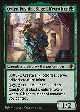 Oviya Pashiri, Sage Lifecrafter