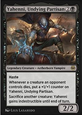 Yahenni, Undying Partisan