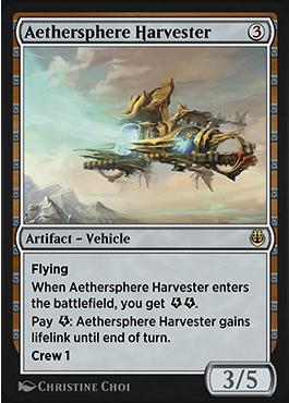 Aethersphere Harvester