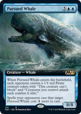 Pursued Whale