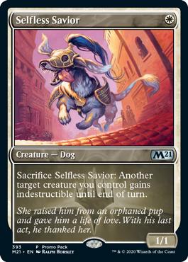 Selfless Savior