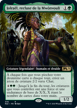 Jolraël, recluse de la Mwônvouli