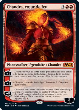 Chandra, cœur de feu