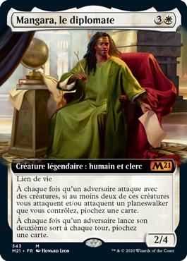 Mangara, le diplomate