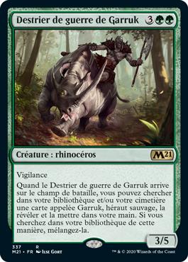 Destrier de guerre de Garruk