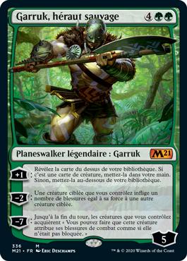 Garruk, héraut sauvage