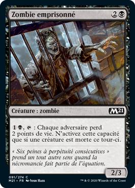 Zombie emprisonné