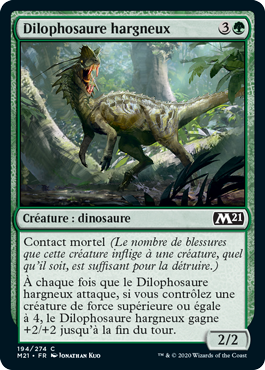 Dilophosaure hargneux