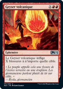 Geyser volcanique
