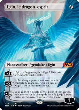Ugin, le dragon-esprit sans bordure