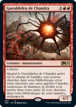 Gueuldefeu de Chandra