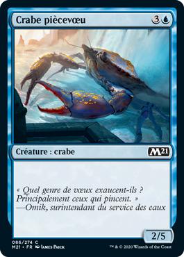 Crabe piècevœu