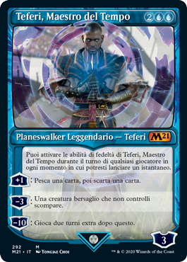 Teferi, Maestro del Tempo 3 in stile vetrina