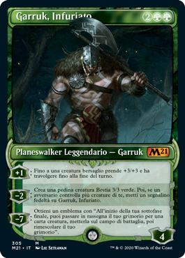 Garruk, Infuriato