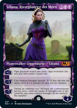 Liliana, Risvegliatrice dei Morti