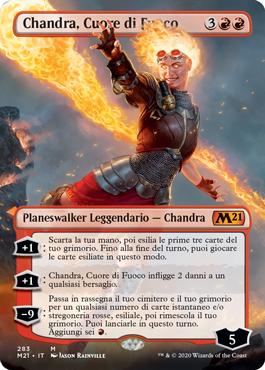 Chandra, Cuore di Fuoco