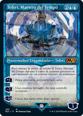 Teferi, Maestro del Tempo 4 in stile vetrina