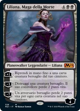 Liliana, Maga della Morte