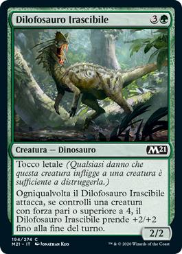 Dilofosauro Irascibile