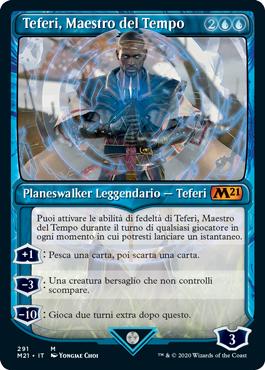 Teferi, Maestro del Tempo 2 in stile vetrina