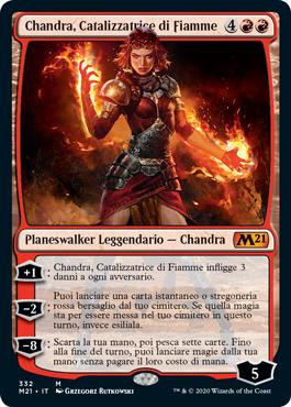 Chandra, Catalizzatrice di Fiamme