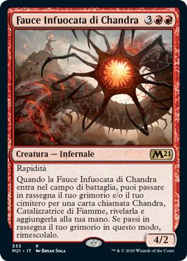 Fauce Infuocata di Chandra