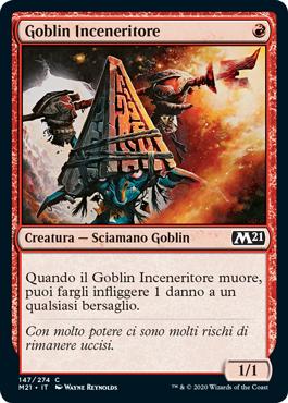 Goblin Inceneritore