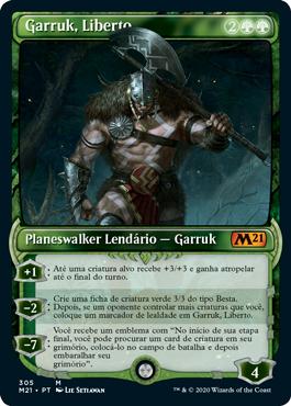 Garruk, Liberto