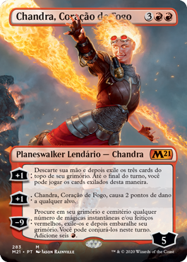 Chandra, Coração de Fogo