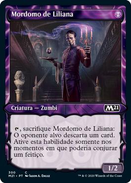Mordomo de Liliana