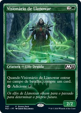 Visionário de Llanowar