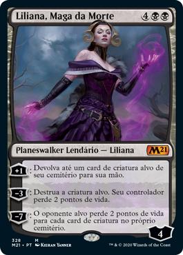Liliana, Maga da Morte