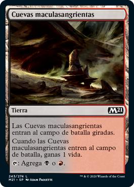 Cuevas maculasangrientas
