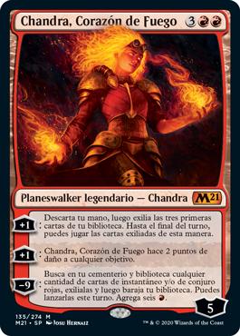 Chandra, Corazón de Fuego