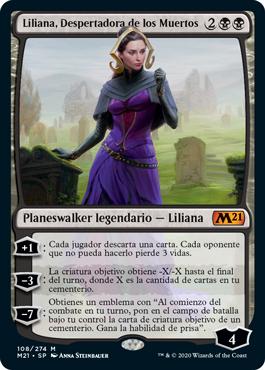 Liliana, Despertadora de los Muertos