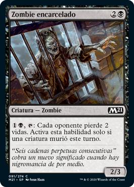 Zombie encarcelado