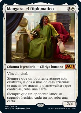Mangara, el Diplomático