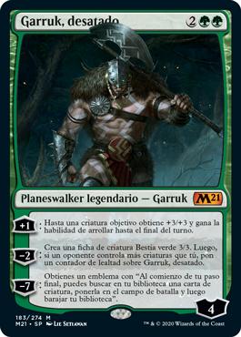 Garruk, desatado