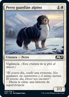 Perro guardián alpino